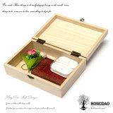 Doos van het Ontwerp van de Douane van Hongdao de Houten Verpakkende met Voering Wholesale_D