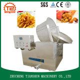 機械を作り、揚げられていた鶏のための機械を揚げるポテトチップ