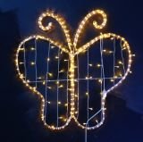 2015 новое Design 2D Colorful СИД Butterfly Light для Mall Decoration