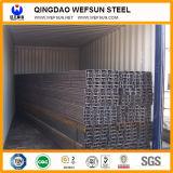 Fascio della Manica del acciaio al carbonio del materiale da costruzione di lunghezza di standard 6m di GB C