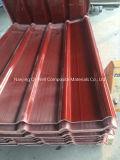 La toiture ondulée de couleur de fibre de verre de panneau de FRP lambrisse W172094
