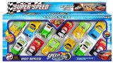 Tirer en arrière, modèle de voiture Voiture, voiture jouet, voiture de course, les enfants de jouets, de voiture en plastique (158G)