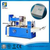 L'impression couleur Serviette Serviette de tissu de pliage de gaufrage papier Convertir la machine