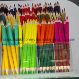 Crayons de couleur Jumbo à double extrémité de couleur