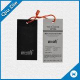 Papel Jeans Hang Tags Vestuário de papel cartão etiqueta de giro para vestuário de fábrica