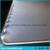 Grabado láser de acrílico luz del panel Guía para la caja ligera