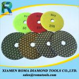 Romatools 다이아몬드 닦는 패드 - 사용 3000#를 말리십시오