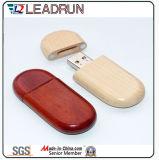 De houten Doos van de Schijf van de Sleutel van de Aandrijving van het Geheugen van de Stok van de Flits van het Bamboe USB (YLH203)
