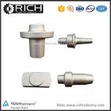 Material personalizado Gancho de revestimento de metal Zamak Receptor inferior Forjamento / Forjamento / Receptor inferior / Peça de máquinas / Usinagem CNC / gancho de agarrar
