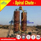 Concentrador de fibra de vidrio de la vertedera en espiral el modelo 5ll-1200 Ilmenita Arena planta de separación