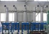 Limpiador de alta consistencia de pasta de residuos de equipos y la máquina de papel