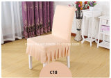 多くのカラーポリエステルスパンデックスの宴会の結婚披露宴の椅子カバー