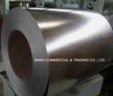 亜鉛はGI Dx51d Z80の熱い浸された電流を通された鋼鉄コイルに塗った