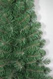 現実主義者のストリングライトマルチカラーLED装飾(5TAE)が付いている人工的なクリスマスツリー
