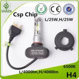 Guter der Wärmeableitung-4000lm H4 Scheinwerfer Birnen-des Auto-LED