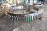 Tratamento de água Anel de giro / Rolamento / rolamento de giro com dureza de engrenagem externa 285-321bhn com SGS
