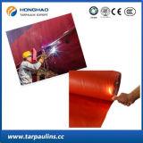 Tela de lã laminada de PVC resistente à alta resistência para cobertura