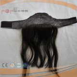 Cheveux vierges brésilien Lace Front Grip Hairpiece (PPG-L-0627)