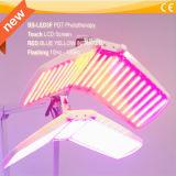 Matériel de thérapie d'éclairage LED de salon de beauté pour le rajeunissement profond de Phototherapy
