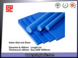 High Tensile Strength를 가진 파란 Nylon Sheet