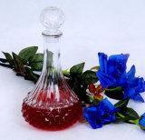 O frasco de vidro para o vinho, vodca, uísque, Cevada-Bree, destilou a bebida, espírito
