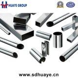 Huaye 201 304 tubes principaux d'acier inoxydable avec du matériau d'AOD
