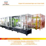 Línea de producción automática de basura de basura para el hogar