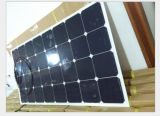 panneau solaire semi flexible de 18V 100W avec des cellules de Sunpower pour le camping-car