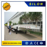Silon 3の車軸40FT 60ton機械中断との平面容器のトレーラーの価格