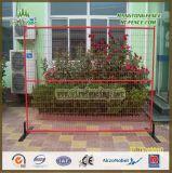 Estructuras de acero de alta seguridad de alquiler de tubo cuadrado valla temporal