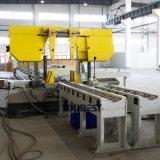 Automatisches Band sah kundenspezifische CNC-Rohr-mechanische Ausschnitt-Geräten-Maschine