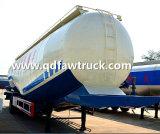 50 Cbm trailer do tanque de cimento a granel, entrega em pó a granel Semi-Trailer