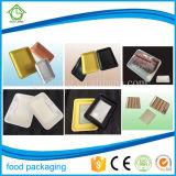 シーフードおよび冷凍食品の包装のための使い捨て可能なプラスチック食糧皿