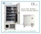 - Congelatore di frigorifero biologico della cassa di temperatura insufficiente 86