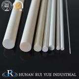 Los tubos de cerámica de alúmina la varilla de aluminio resistente a altas temperaturas