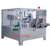 Machine de conditionnement automatique de sachet rotatif pour produits liquides