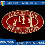 Il regalo dello smalto di stampa di marchio dell'OEM di prezzi di fabbrica Badges il metallo