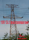 Torretta della trasmissione di tensionamento di Megatro 110kv 1c4 J1