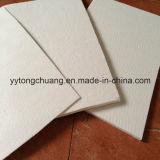 Isolamento térmico de papel de fibra de cerâmica como forro de separação de vedação de junta