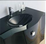 Gabinete de banheiro novo do MDF de Moden com dissipador (SW-1319)