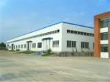Gruppo di lavoro chiaro Pre-Costruito della struttura d'acciaio con la finestra della lega di alluminio (KXD-pH13)
