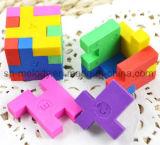 Henbrandt 24 Cube Caoutchouc Puzzles Gommes