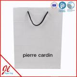 2016 sacos de papel do presente Recyclable luxuoso decorativo por atacado da forma com seu próprio logotipo