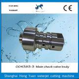 Тело задерживающего клапана запасной части подсвечивателя прочного высокого давления водоструйное