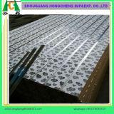 Melamine Ingelaste MDF Raad met Aluminium