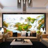 Vente en gros de peintures à l'huile de paysage à la main sur toile, peinture de décoration d'hôtel, peinture à domicile