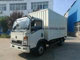 Sinotruk 4X2 5ton 가벼운 밴 화물 트럭