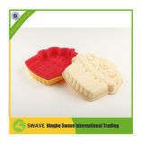 3D Fondant au château de décoration en silicone en forme de moule à gâteau de modélisation, drôle de moules en silicone