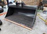 Cubeta de lama da máquina escavadora Dx140 1800mm de Doosan com a lâmina dois