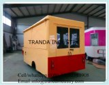 Mobile Restaurant Hot Dog Kiosk Popcorn Mobile Cantine